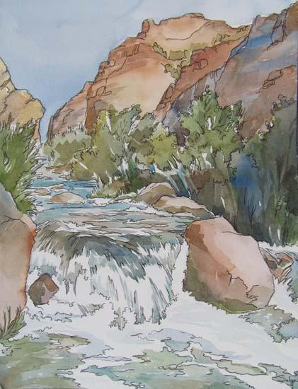 Jones Creek Green River Utah