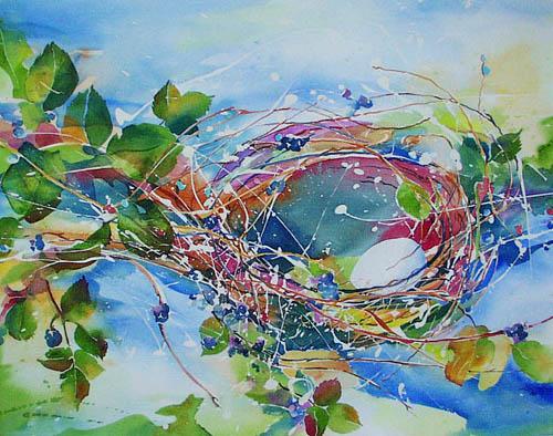 Kim Solga watercolor